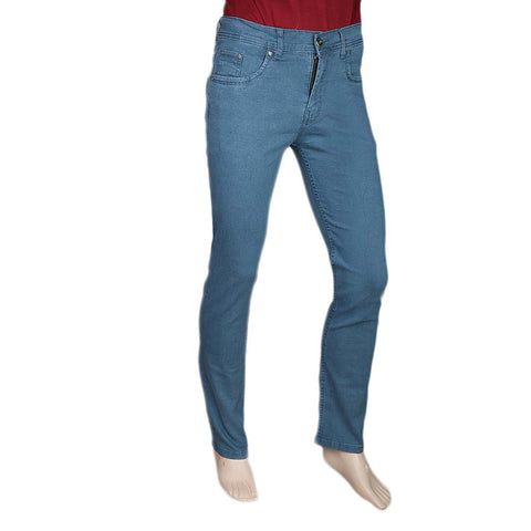Men's Slim Fit Jeans Pant - Steel Blue