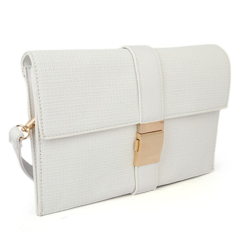 Women's Clutch H076 - White