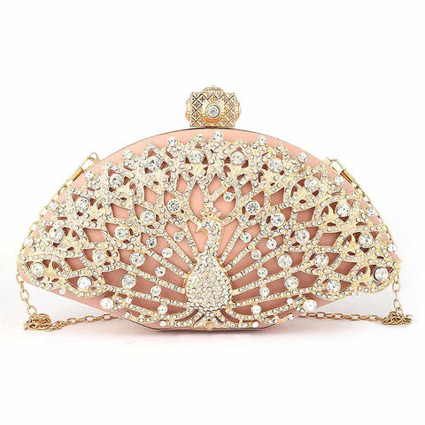 Women's Bridal Clutch - Pink