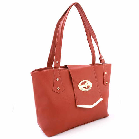 Women's Handbag (ZH-44) - Rust