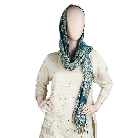 Women's Stole - Sea Green
