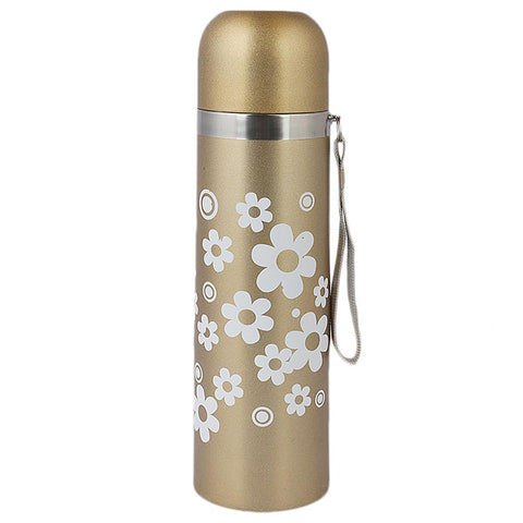 Steel Flask Bottle 500 ml - Golden