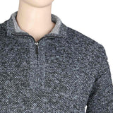 Men's Full Sleeves Sweater - Dark Grey