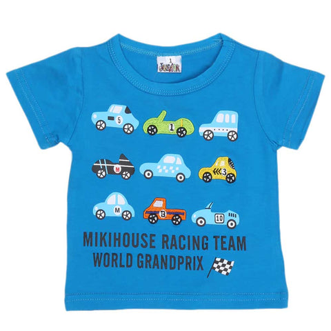 Newborn Boys T-Shirt - Blue