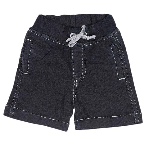Newborn Boys Shorts - Navy Blue - test-store-for-chase-value