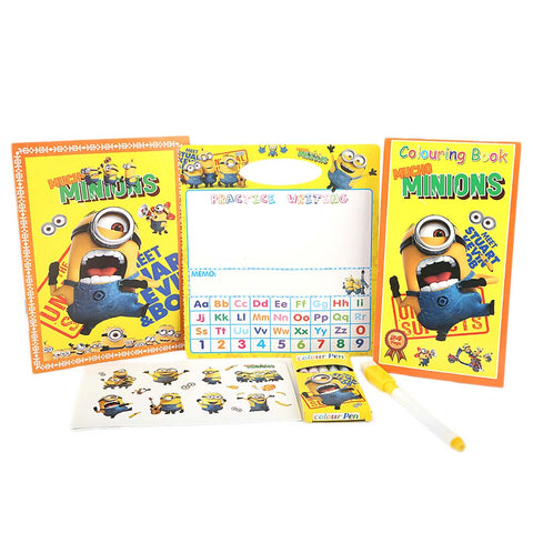 Minions Stationery Set 5 Pcs - Yellow