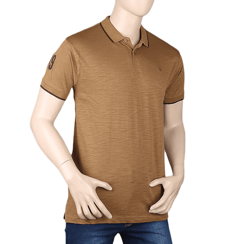 Men's Eminent Half Sleeves T-Shirt - Brown
