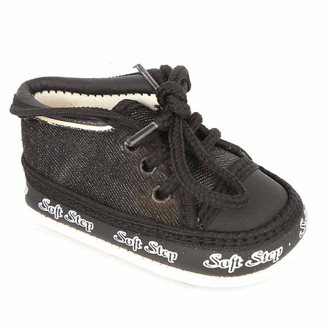 Newborn Boys Shoes - Black