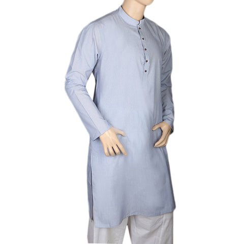 Eminent Trim Fit Kurta For Men - Light Blue