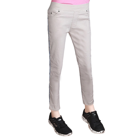 Women's Striped Jegging - Light Skin