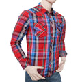 Men's Casual Shirt - Red