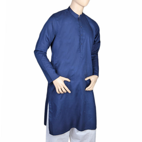 Eminent Trim Fit Kurta For Men - Royal Blue