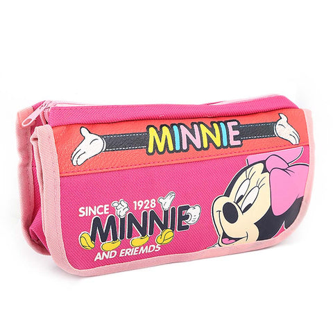 Minnie Mouse Pencil Pouch - Pink