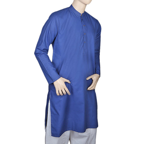 Eminent Trim Fit Kurta For Men - Dark Blue