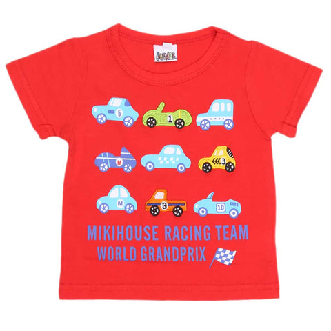 Newborn Boys T-Shirt - Red