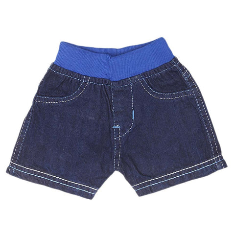 Newborn Boys Shorts - Blue - test-store-for-chase-value