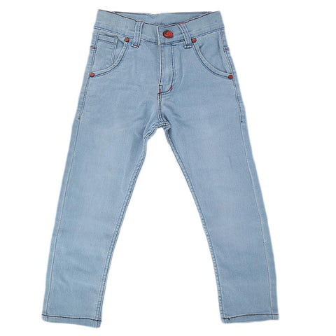 Boys Denim Pant - Light Blue