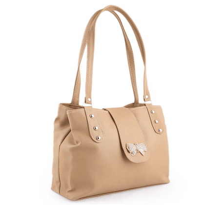 Women's Handbag - Light Brown - test-store-for-chase-value