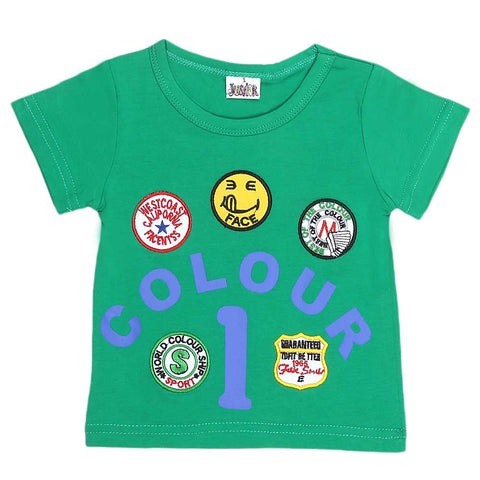 Newborn Boys T-Shirt - Green