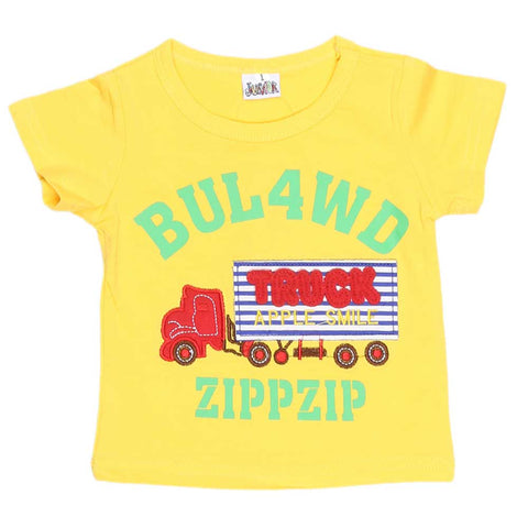 Newborn Boys T-Shirt - Yellow