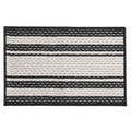 Printed Door Mat 19x29 - Black
