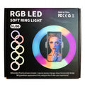 Selfie Ring Light Multi 33cm - White