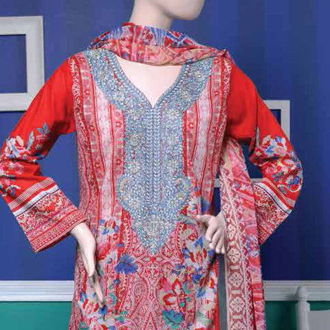Ayana Embroidered Lawn Suit - 1 B - test-store-for-chase-value