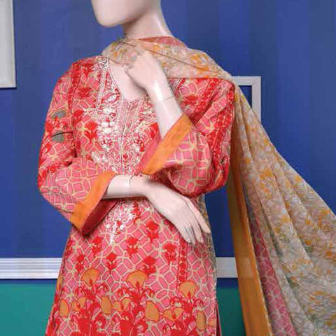 Ayana Embroidered Lawn Suit - 2 A - test-store-for-chase-value