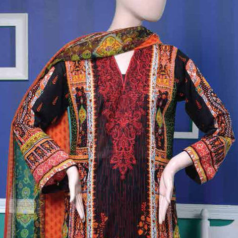 Ayana Embroidered Lawn Suit - 3 B - test-store-for-chase-value