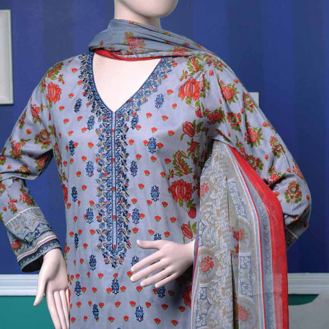 Ayana Embroidered Lawn Suit - 4 B - test-store-for-chase-value