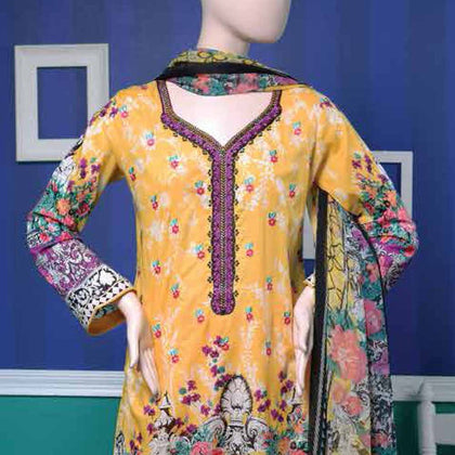 Ayana Embroidered Lawn Suit - 5 B - test-store-for-chase-value