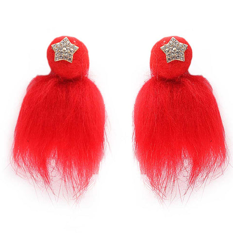 Girls Hair Clip - Red - test-store-for-chase-value