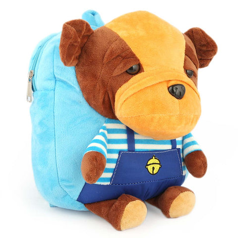 Kids Stuffed Bag - Light Blue