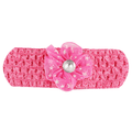 Girls Headband - Dark Pink - test-store-for-chase-value