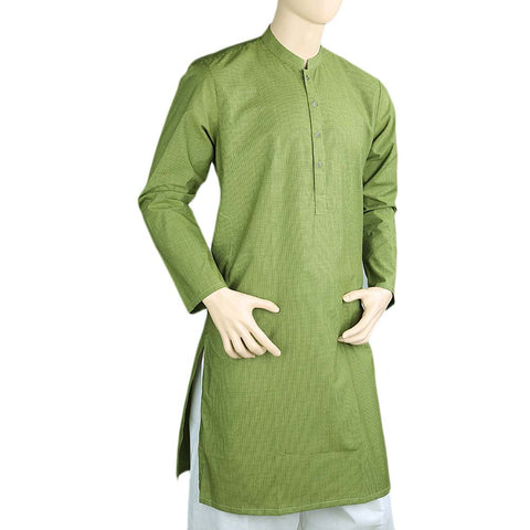 Men's Eminent Kurta - Green - test-store-for-chase-value