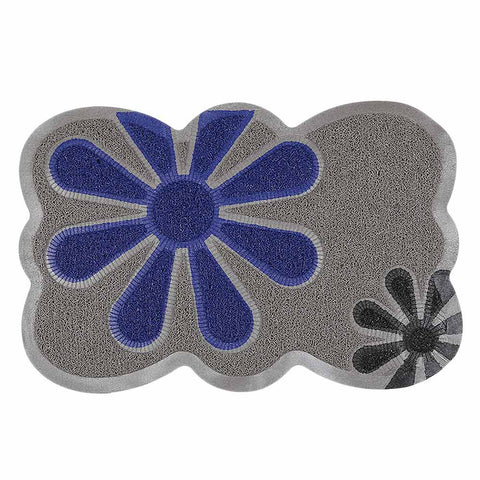 PVC Door Mat 14 x 22 - Grey
