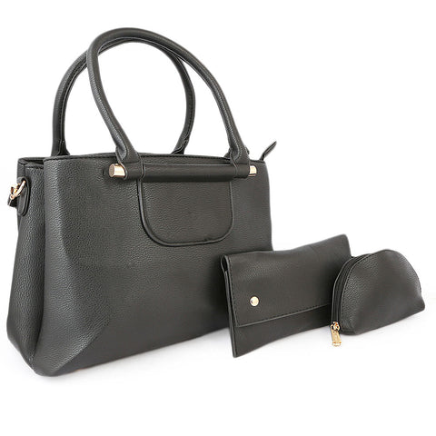 Women's Handbag 3 Piece - Black