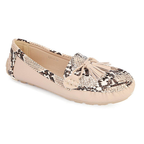 Women's Fancy Casual Shoes (C26-4) - Beige