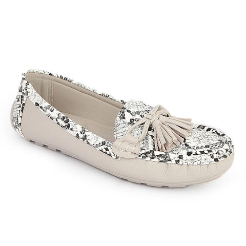 Women's Fancy Casual Shoes (C26-4) - Grey