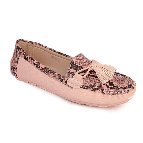 Women's Fancy Casual Shoes (C26-4) - Pink