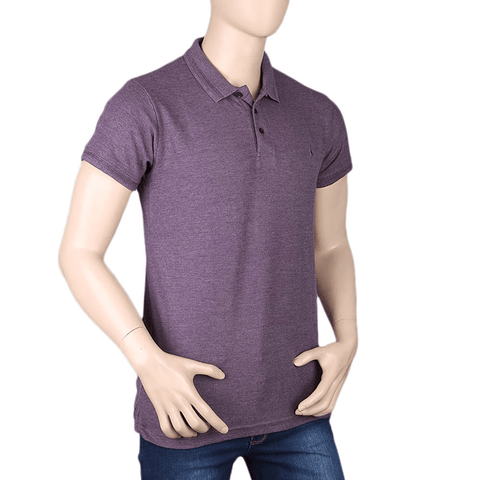 Men's Half Sleeves T-Shirt - Light Purple