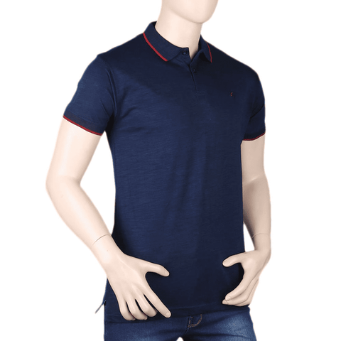 Men's Eminent Half Sleeves T-Shirt - Dark Blue