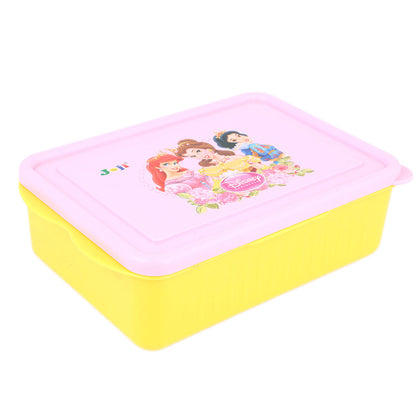 School Lunch Box - Yellow