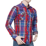 Men's Casual Shirt - Dark Blue