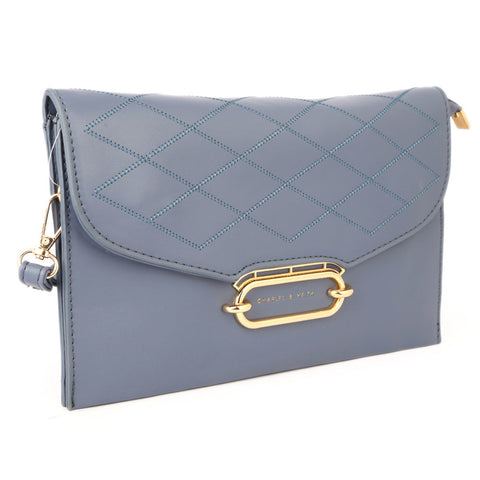 Women's Clutch 68008 - Grey