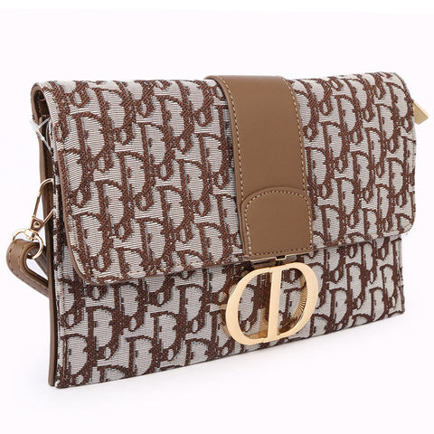 Women's Clutch 68010 - Coffee