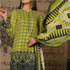 Aiman Fahad Embroidered Lawn 3 Piece Un-Stitched Suit - 9A