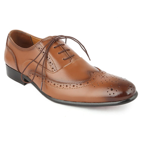 Men's Formal Shoes D-113 - Brown