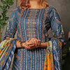 Aiman Fahad Embroidered Lawn 3 Piece Un-Stitched Suit - 3