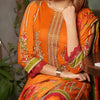 Aiman Fahad Embroidered Lawn 3 Piece Un-Stitched Suit - 4